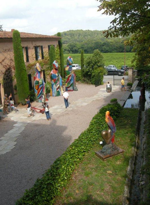 St Roseline wijn, nabij Draguignan