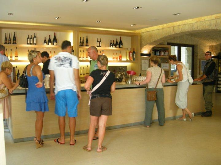 Profiteer de wijn in Provence (St Roseline)