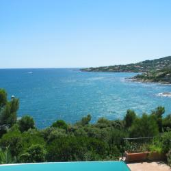 Prachtige panorama langsde Middellandse zee