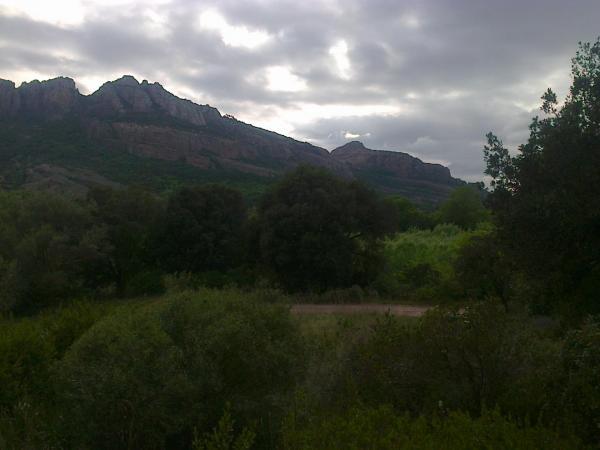 Roquebrune/Argens roc